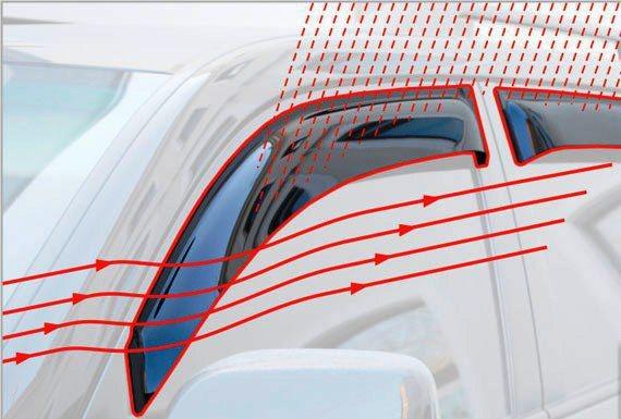 Ветровики SkyLine Hyundai Solaris 2015- (Verna 2015-) Skyline SL-WV-667 - фото 11