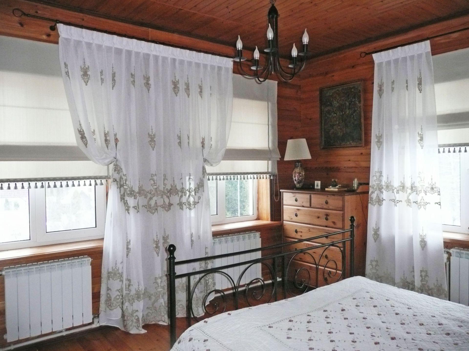шторы на даче в деревянном доме фото тем